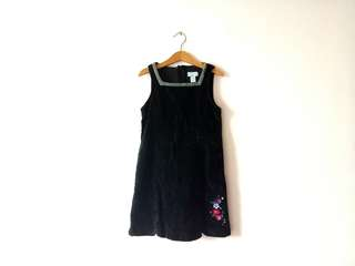 Authentic The Children's Place Sleeveless Black Dress