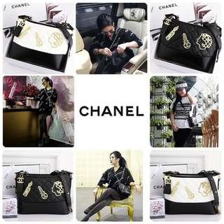 * Embellished Medium Hobo Bag