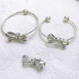 Pandora 2018 bow ribbon charm
