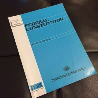 Federal Constitution (ILBS)