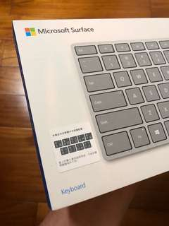 微軟 Microsoft Surface 藍芽鍵盤