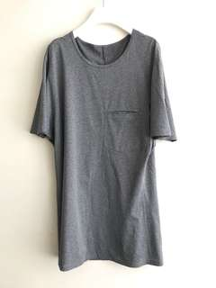 Avant-garde relaxed cut Long tee Made To Order 46-54
