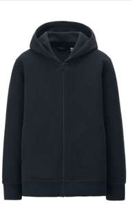 Uniqlo heattech fleece hoodie jacket