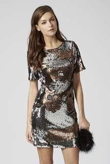 Topshop Sequin Party Dress (nego)