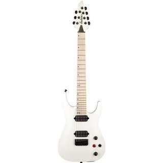 Jackson Pro Series DKA7 7-String Electric Guitar, Maple FB, Satin White