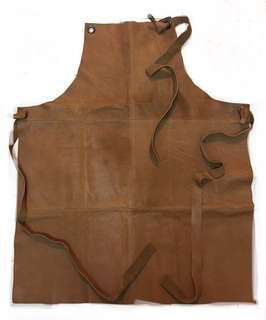 100%牛皮 工匠圍裙
