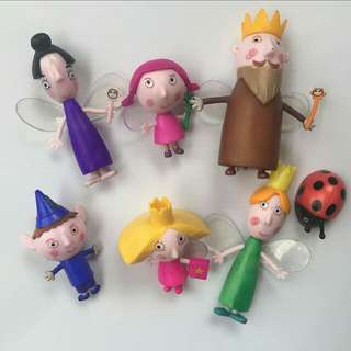 Ben and Holly's Little Kingdom Toys Cake Topper Birthday Cupcake Decoration