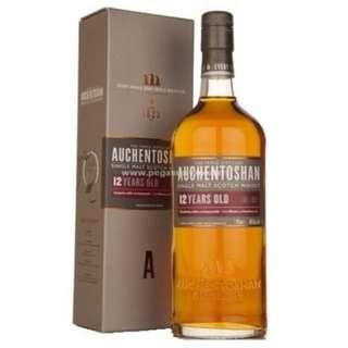Auchentoshan 12 Years Single Malt Scotch Whisky 歐肯特軒12年單一純麥威士忌