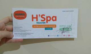 Voucher spa Harris Gubeng