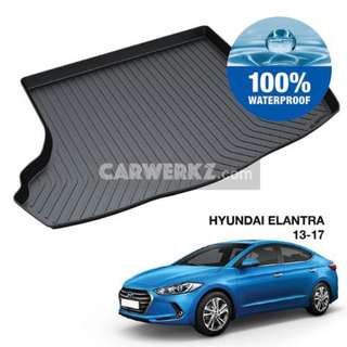 Hyundai Elantra 2013-2017 6th Generation (AD) TPO Boot Tray
