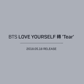 BTS LOVE YOURSELF : TEAR