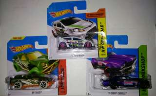 Hot wheels short cards hotwheels
