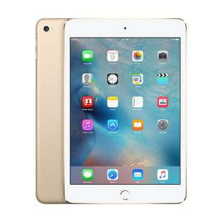 Apple iPad Mini 4 [128GB - Celullar - Gold]