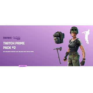 Twitch Prime Loots