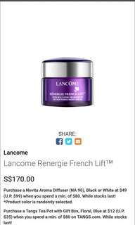 Lancôme Lancome Renergie French Lift™  兰蔻法式提拉晚霜