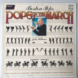 Pops on the March by Boston Pops conducted by John William PHILIPS 6302082