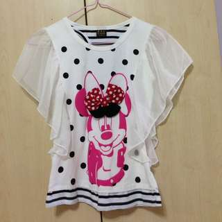 Minnie Mouse Kid's Blouse