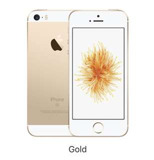 NEW BNIB IPHONE SE 64 GB GOLD HONG KONG BARU