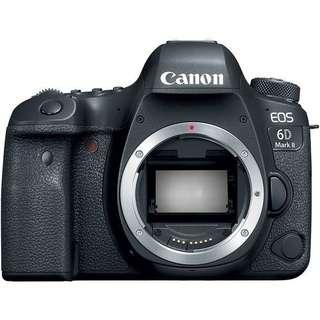 Kredit Canon EOS 6D Mark II Body Only Proses Cepat