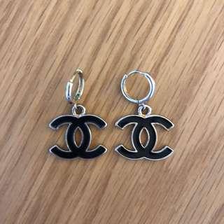 Chanel Style earrings