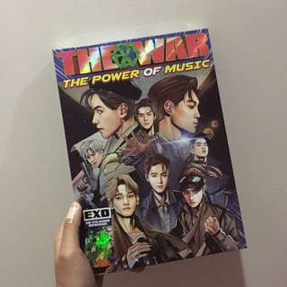 Unsealed EXO the power of music album