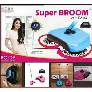 BOLDe SUPER BROOM X-TRA Sapu Otomatis Tanpa Listrik