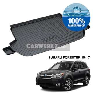 Subaru Forester 2015-2017 4th Generation (SJ XT) TPO Boot Tray