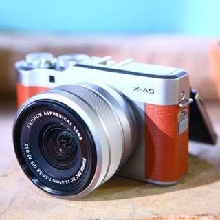 Camera Mirorles Terbaru Fujifilm xa5 Bisa di cicil tanpa kartu credit cicilan 0%