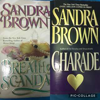 Sandra Brown Books Bundle Sale