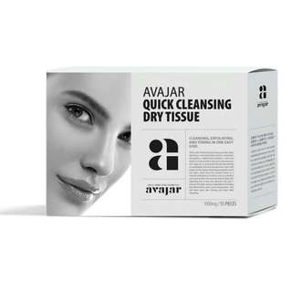Avajar - QUICK CLEANSING DRY TISSUE 15ea