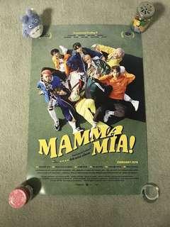 SF9 - Mamma Mia! (Normal Edition) (Poster) [UNFOLDED]