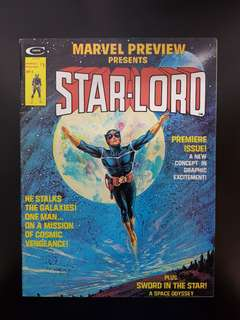 Marvel Preview Presents #4: STARLORD