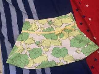 Side zip skirt