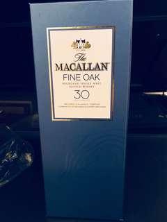 Macallan 30Years Fine Oak