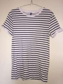 H&M Stripe T-shirt