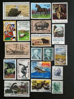 US used stamps#2