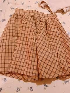 🚚 Earth music 日本品牌 學院風格紋短裙
