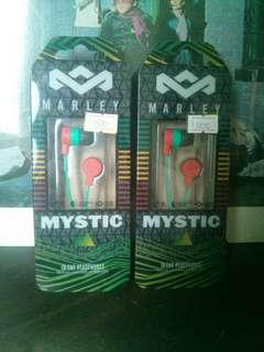 Marley mystic in-ear phones