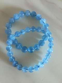 🎉天然海藍寶💎单圈手鏈9m(一級)👍