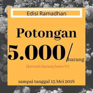 Potongan 5.000