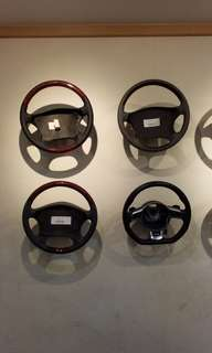 EUROPEAN CONTINENTAL CAR STEERING WHEELS