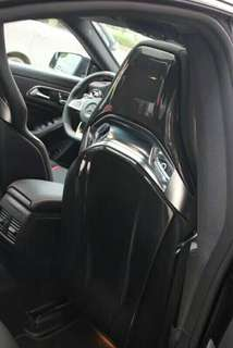 CLA45 CF Seat Shield