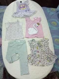 Bundle set baby girl (6-12mths)