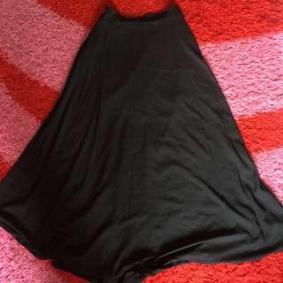 Long Flare Skirt
