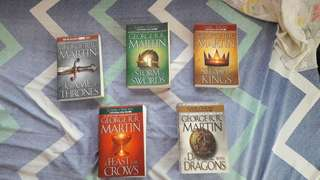 A Song of Ice and Fire Series (Game of Thrones)