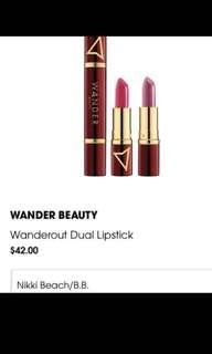 brand new lipstick duo
