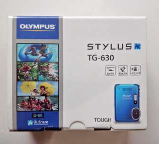 Camera Olympus Tough TG-630 Underwater  (warna putih)