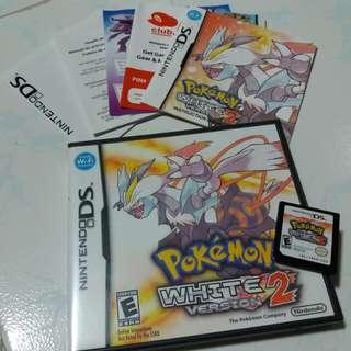 Pokémon white 2 nintendo ds