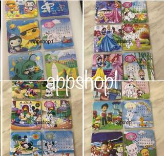 12 pieces puzzle for children goodies bag, goodie favors, toddlers learning material