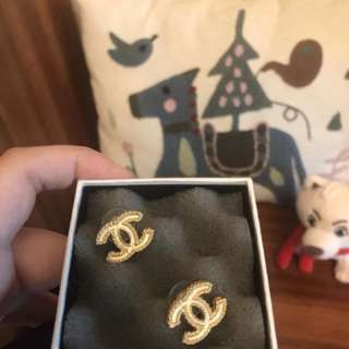 Chanel Gold Earrings